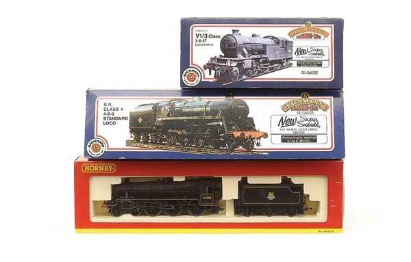 1023: OO Gauge - A Trio of BR Steam Locos