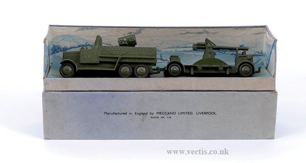 2002: Dinky Pre-war No.161 Mobile Anti Aircraft Unit