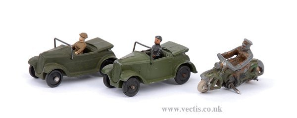 2006: Dinky No.37C Royal Signals Despatch Rider
