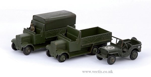 2008: Dinky No.153A Jeep & Others