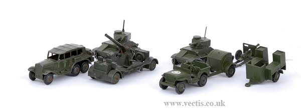 2010: Dinky Post-war Military Items