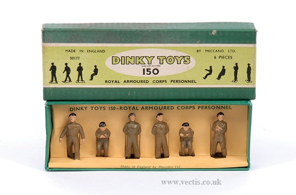 2021: Dinky No.150 Royal Armoured Corp Personnel