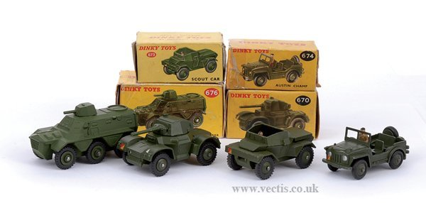 2022: Dinky No.670 Armoured Car & Others