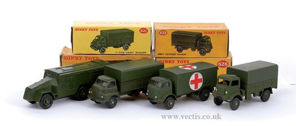 2023: Dinky No.621 3-ton Army Lorry & Others