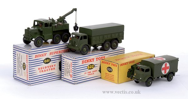 2024: Dinky - A Group of 3 x Military Vehicles