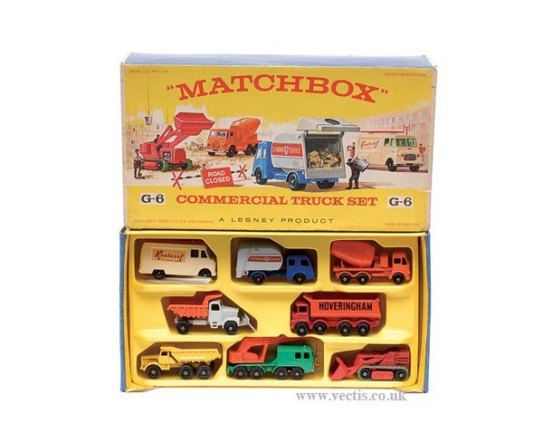 "2604: Matchbox G6 ""Commercial Truck"" Gift Set"