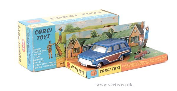 3001: Corgi No.440 Ford Consul Cortina Super Estate