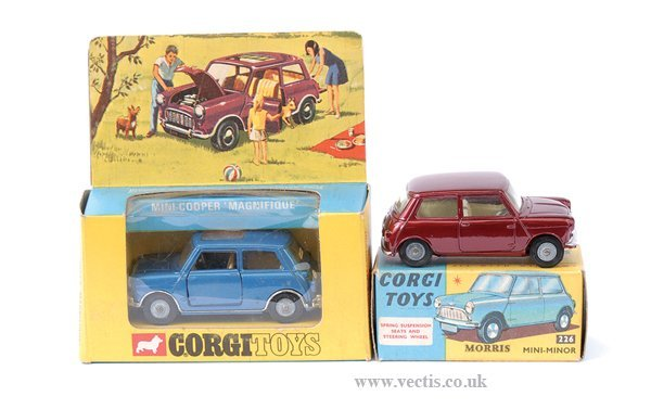 3002: Corgi No.226 Morris Mini Minor