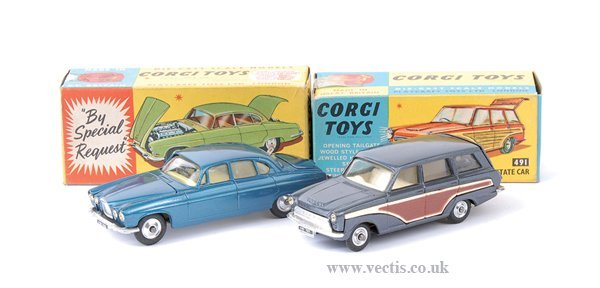 3003: Corgi No.238 Jaguar Mk.X & Others