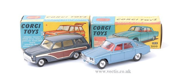 3004: Corgi No.252 Rover 2000 & Others
