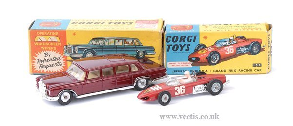 3005: Corgi No.154 Ferrari F1 Racing Car & Others