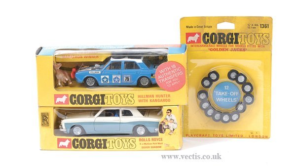 3006: Corgi No.273 Rolls Royce Silver Shadow & Others
