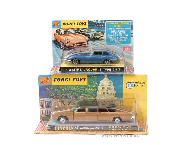 3007: Corgi No.262 Lincoln Continental Limo & Others