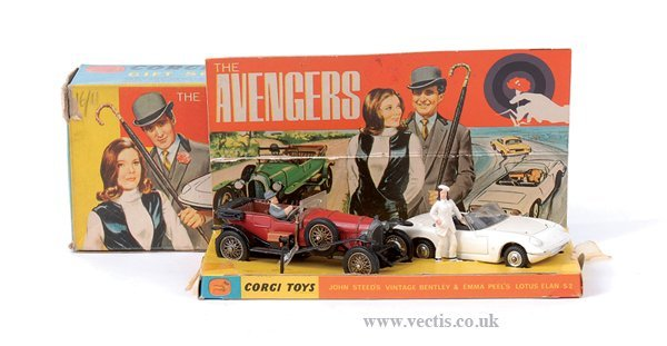 "3017: Corgi No.GS ""The Avengers"" Gift Set"