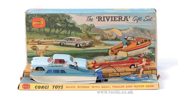 "3018: Corgi No.GS31 ""Riviera"" Gift Set"
