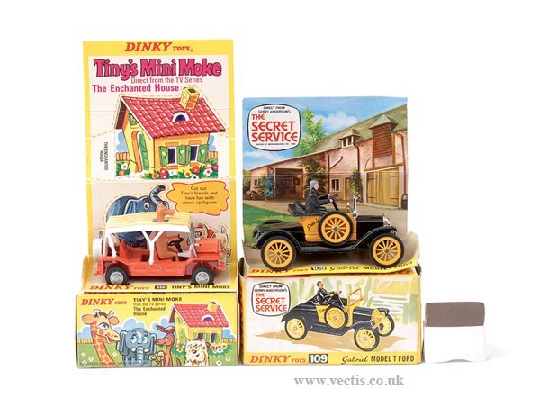 "3021: Dinky No.350 ""Tiny's"" Mini Moke"