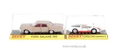 3377: Dinky No.1402 Ford Galaxie & No.503 Porsche