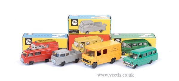 4011: Siku No.251 Ford Taunus Pick-up & Others