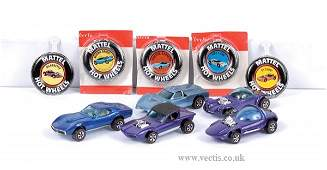 4043: Hot Wheels Redliners - A Group of Unboxed