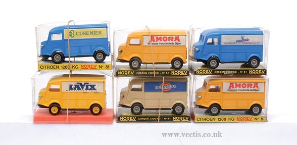4664: A Group of Citroen 1200kg Vans