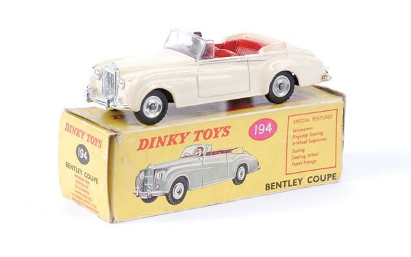 14: Dinky No.194 Bentley Coupe