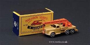 1217: Matchbox No.30b Magirus Deutz Crane Truck