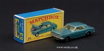 1388: Matchbox No.53c Ford Zodiac Mk.IV
