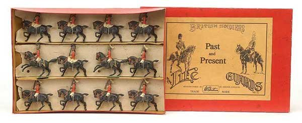 2003: Britains - Set 72 - The Life Guards 1837 & 1897