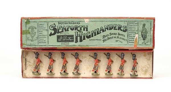 2006: Britains - Set 112 - Seaforth Highlanders