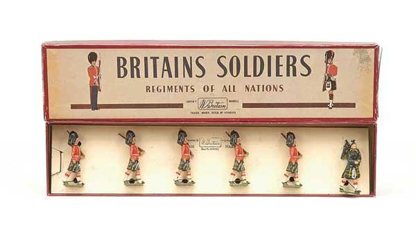 2007: Britains - From Set 77 - The Gordon Highlanders
