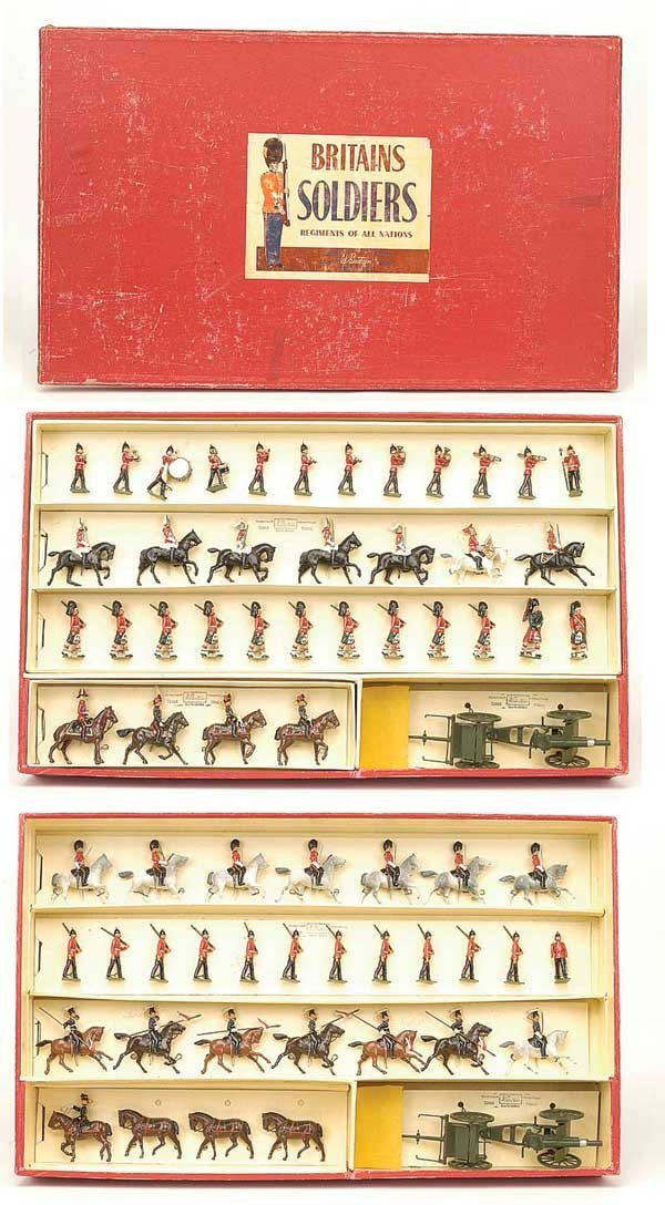 2011: Britains-Set 9407-British Army Presentation Case