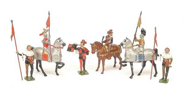 2012: Britains - Set 1258 - Knights in Armour