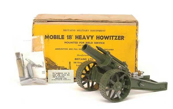 """2019: Britains - Set 9740 - 18"""" Heavy Howitzer"""