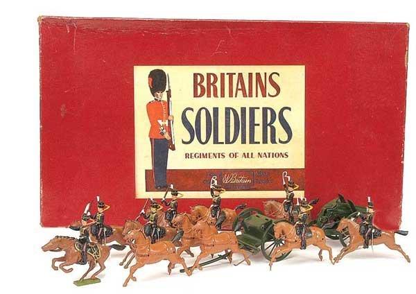 2020: Britains-Set 9419-Royal Horse Artillery [1962]
