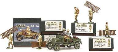 2068: Toy Army Workshop - British WWI Vickers MG