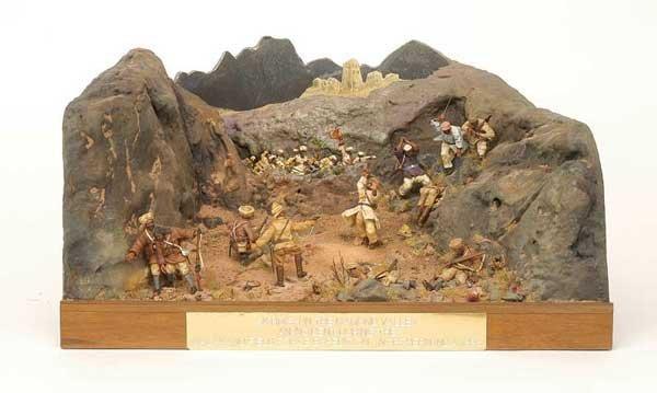 2318: Norman Abbey-Diorama - Skirmish - Mamund Valley