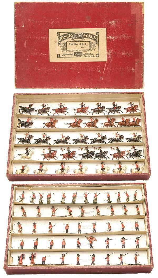 2508: Britains Set 1267-Lge Presentation Box British