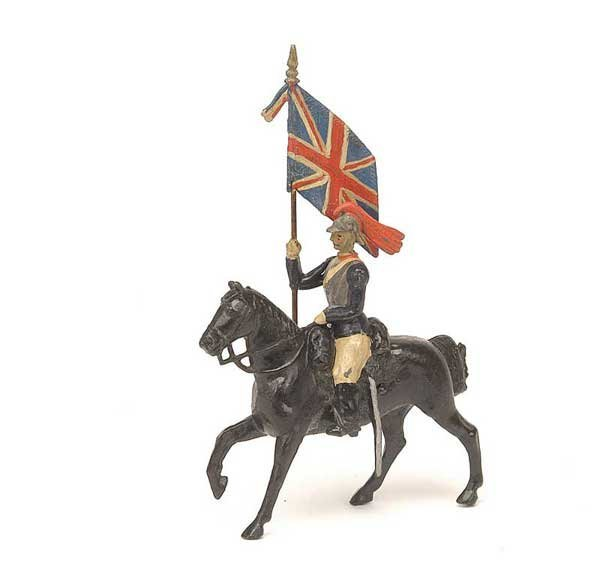 2517: Britains-Paris Office-Mtd RHG Colour Bearer