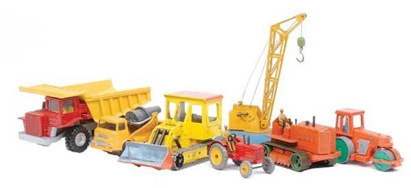 3010: Dinky - Tractors & Construction Vehicles