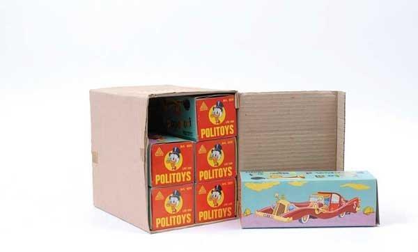 "3636: Politoys No.559 ""Disney"" Uncle Scrooge Car"