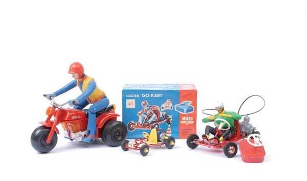 4009: Huki & Other Electric Go-Karts