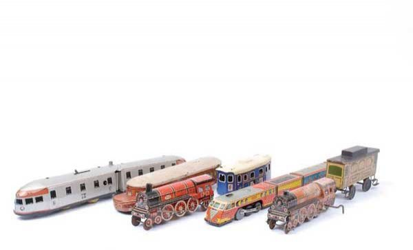 4015: Assorted French Tinplate Trains