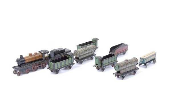 4018: CKO Kellerman Miniature Tinplate Trains