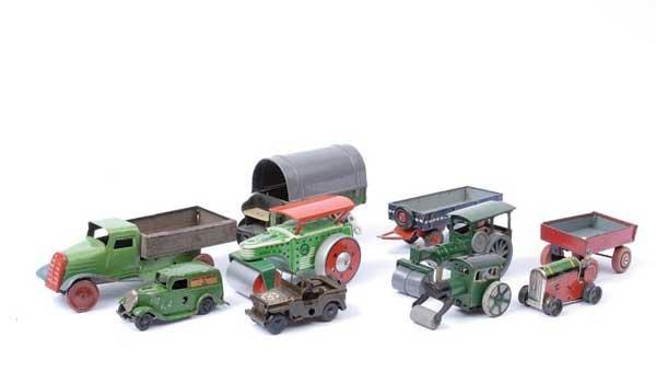 4020: British/German and French Tinplate Vehicles