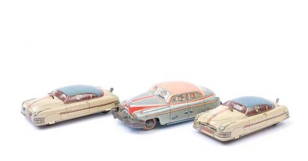 4021: HK (Germany) Tinplate Clockwork Cars