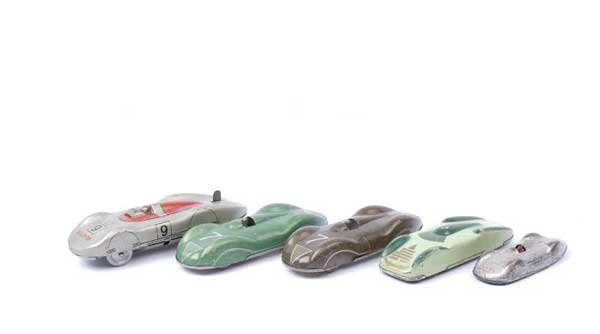 4022: Biller Toy & Other Tinplate Racing Cars