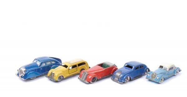4023: Lehmann and Other Tinplate Cars