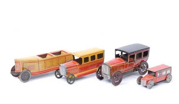 4024: Rico (Spain) Tinplate Vintage Cars