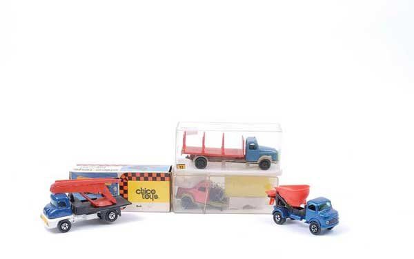 Chico Toys (Columbia) - A Group of Lorries
