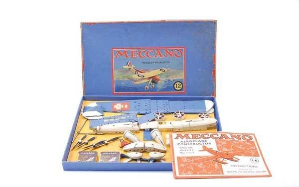 5001: Meccano Export No.12 Aeroplane Outfit Set